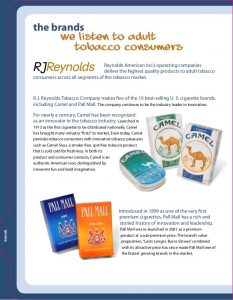 Reynolds Inc. Announces Upcoming Launch of Technologically Innovative Smokeless Products