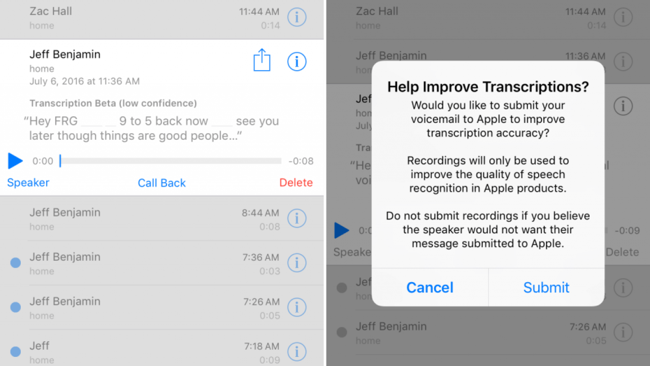IPhone 5 4G users to benefit from visual voicemail