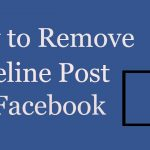 How do i remove timeline from facebook