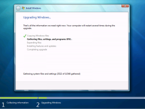 How to Upgrade Windows Vista to Windows 7 in easy steps