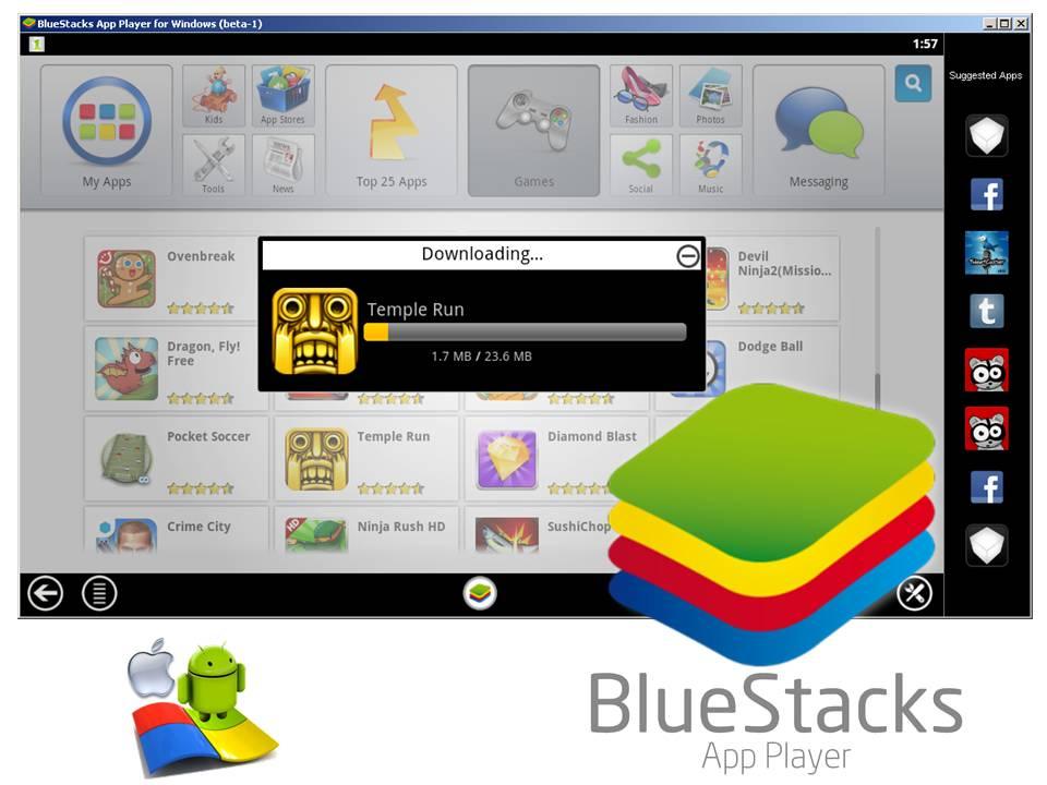 Bluestack app player download