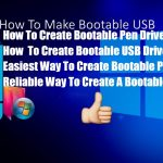 Bootable Pen Drive Windows 7