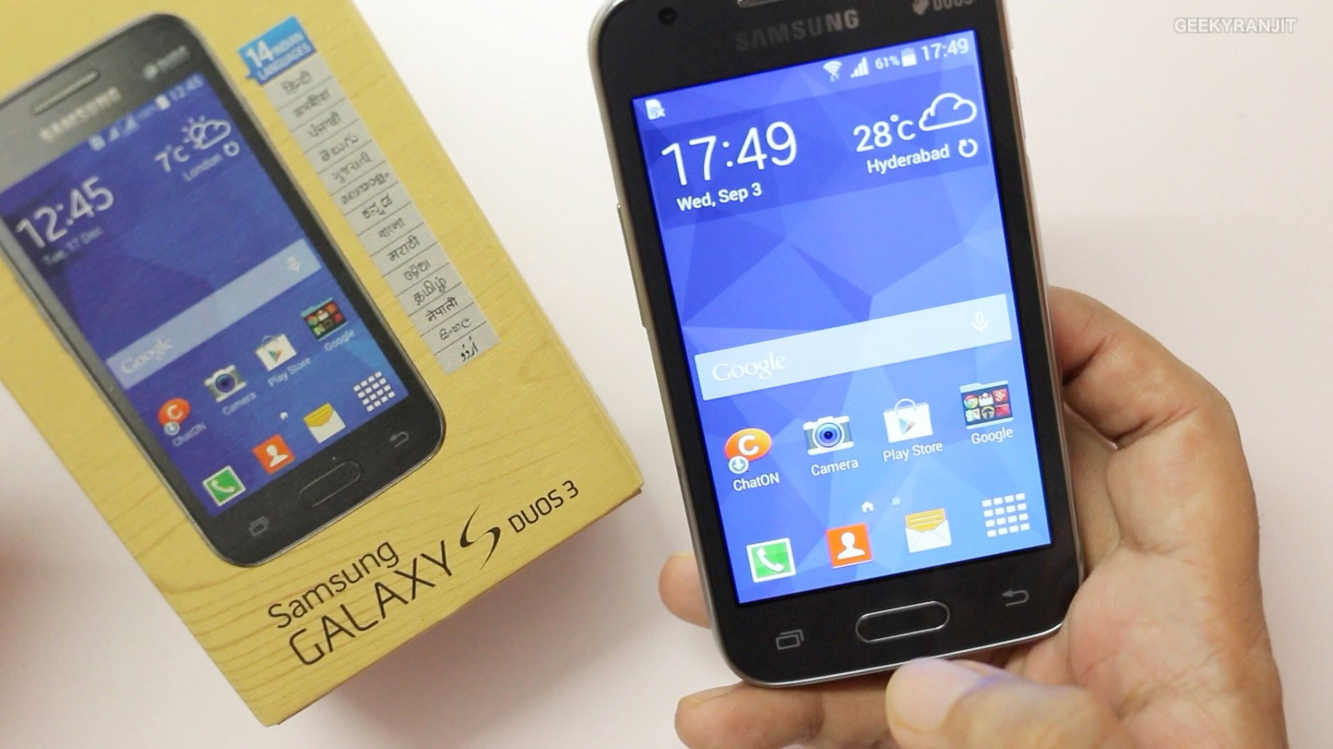 Samsung Galaxy S Duos 3 specifications