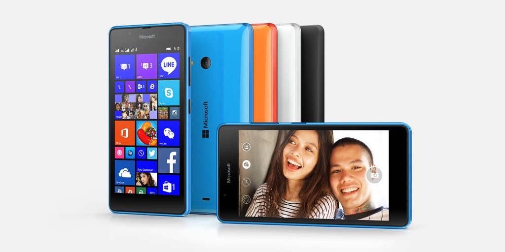 Specifications of Microsoft Lumia 540