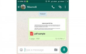 Android document sharing