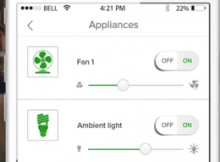 Home Automation Smartphone App