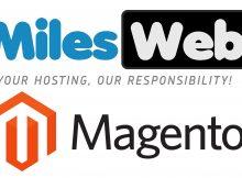 MilesWeb Magento Web Hosting Logo Copy