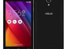 asus zenfone go 4.5 with short and cute screen