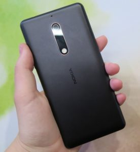Nokia 5 with finger print sensor