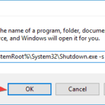 Windows 10 Shutdown Button Not Working