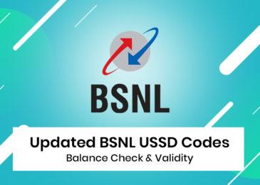 Check BSNL Balance – How to Check BSNL Data Balance, SMS, Main Balance?