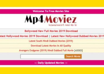 Mp4moviez.in – Download Latest HD Movies For Free (MP4Moviez)